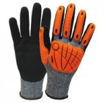 Wells Lamont I2459-M FlexTech Cut-Resistant Impact Gloves