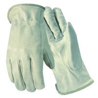 Wells Lamont Y0107M Grain Goatskin Drivers Gloves