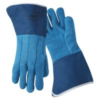 Wells Lamont 628FR Jomac Blue Terry Cloth with Duck Cuff Gloves