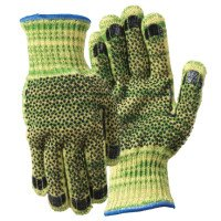 Wells Lamont 1881L Whizard Metalguard Heavy Weight Gloves with PVC Dots