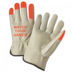 West Chester 995KOT/S 995KOT Cowhide Driver Gloves