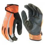 West Chester 89308OR/XL Extreme Work VizX Safety Gloves