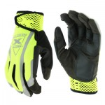 West Chester 89308/L Extreme Work VizX Safety Gloves
