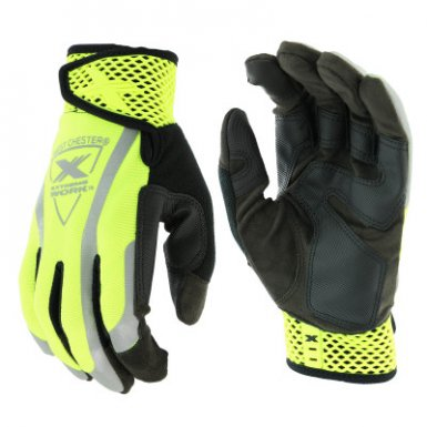 West Chester 89308/2XL Extreme Work VizX Safety Gloves