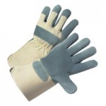 West Chester 800-AAA/L Premium Heavy Split Cowhide Leather Palm Gloves