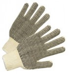 West Chester 708SKBSY PVC Dot String Knit Gloves