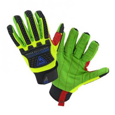 West Chester 87800/2XL R2 Corded Palm Rigger Gloves