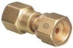 Western Enterprises 806 Brass Cylinder Adaptors