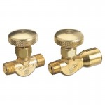 Western Enterprises 208-F Non-Corrosive Gas Flow Valves