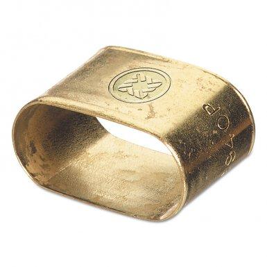 Western Enterprises 454 Oval Brass Dual Hose Braces