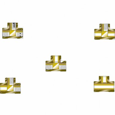 Western Enterprises WHF-4-10 Pipe Tees