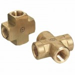 Western Enterprises BCR-4LP Pipe Thread Crosses