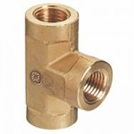 Western Enterprises BFT-4SS Pipe Thread Tees