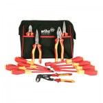 Wiha Tools 32894 Insulated Pliers, Cutters, Screwdrivers and Nut Drivers 13 Piece Sets