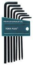 Wiha Tools 36690 Wiha Tools TorxPlus Long Arm L-Key Sets