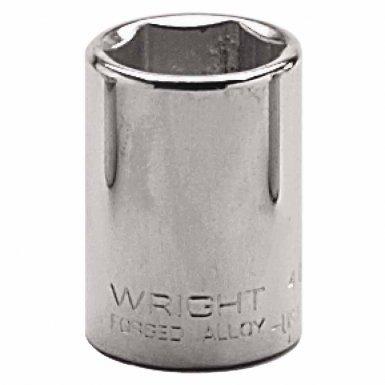 "Wright Tool 4030 1/2"" Dr. Standard Sockets"
