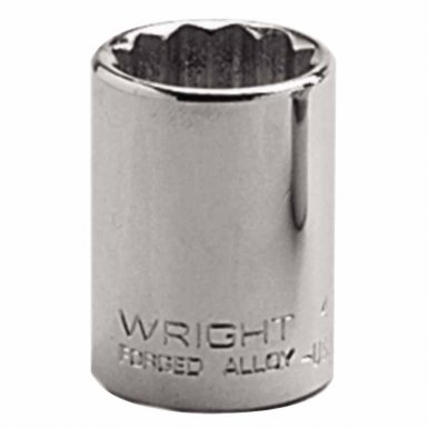 "Wright Tool 4112 1/2"" Dr. Standard Sockets"