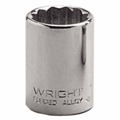 "Wright Tool 4124 1/2"" Dr. Standard Sockets"