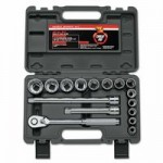 Wright Tool A41 16 Piece Cougar Pro Socket Set
