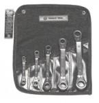 Wright Tool 9429 5 Pc. Ratcheting Offset Box Wrench Sets