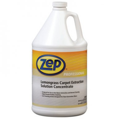 Zep Professional R00624 Lemongrass Carpet Extraction Solution Concentrate