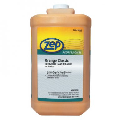 Zep Professional R05160 Orange Classic Industrial Hand Cleaner with Pumice