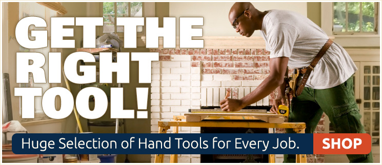 Get The Right Tool - Huge Selection of Hand Tools for Every Job. Shop Now!